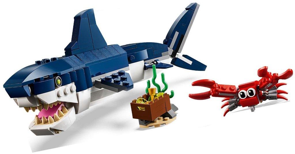 Конструктор Lego Creator Deep Sea Creatures 31088 - 1a.lv