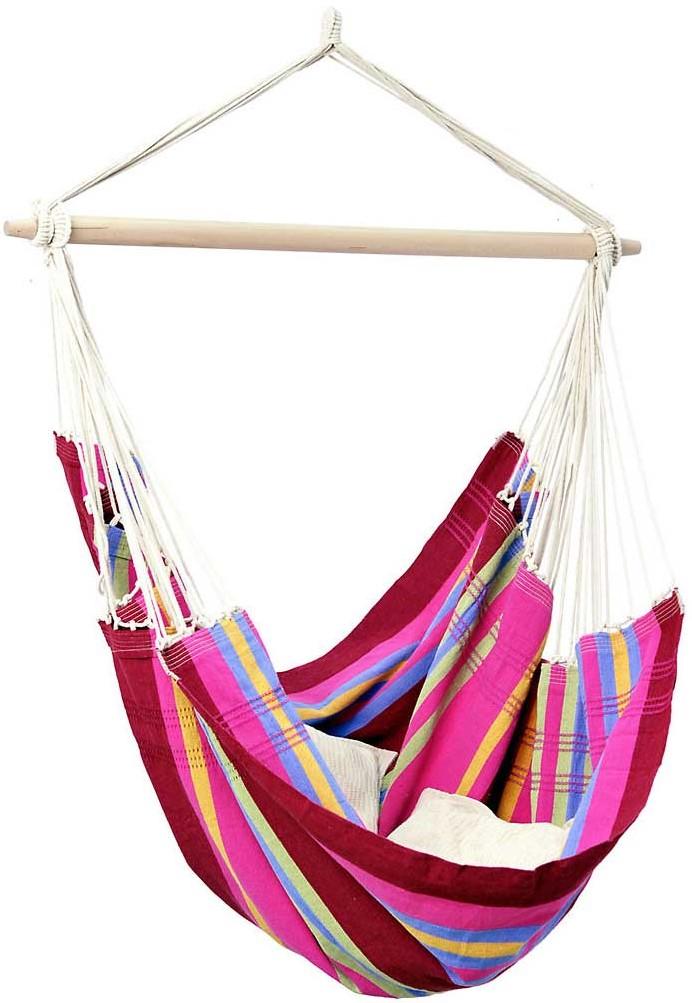 Amazonas Hangstoel Relax Vulcano.Amazonas Hanging Chair Brasil Grenadine Ksenukai Lv
