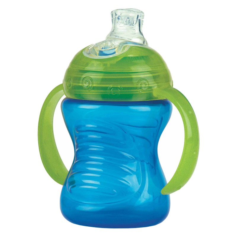 Nuby No-Spill Super Spout Grip N' Sip 240ml